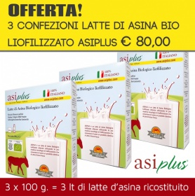 Asiplus Organic donkey milk-powder 100 gr copia